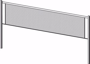 Immagine per la categoria Reti tennis e badminton